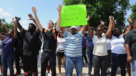 Ferguson, le 12 août 2014
