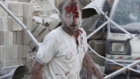 Dans le quartier Qadi Askar à Alep en Syrie, le 10 août, 2014