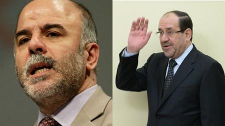 Haïdar al-Abadi et Nouri al-Maliki