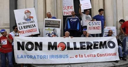 Les travailleurs d'Iribus contre la «restructuration»