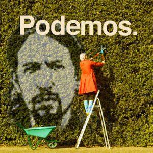 Portrait de Pablo Iglesias, le porte-parole le plus connu de Podemos