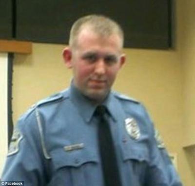 Darren Wilson: officier de police