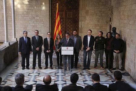 Artur Mas annonce, en décembre 2013, la date de la consultation