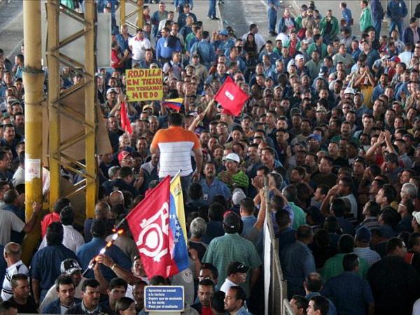 Grève chez Sidor en 2013