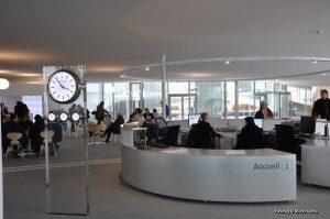 Rolex Learning Center de l'EPFL (Lausanne)