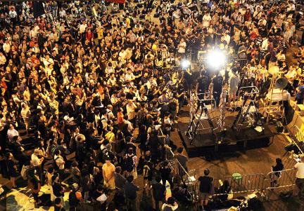 Les étudiants appellent, à 22h40 le 9, à une manifestation de masse pour le 10 octobre à 19h30