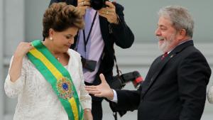 Dilma «présidentifiée» par Lula