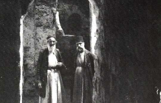 Quartier juif de Hébron en 1921