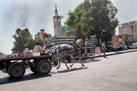 Dans le quartier de Jobar, les affrontements sont quotidiens