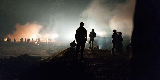 La Zone du Testet le 25-26 octobre 2014, où Rémi Fraisse a été tué