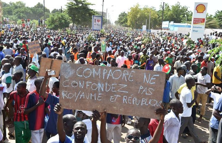 Ouagadougou le 28 octobre 2014