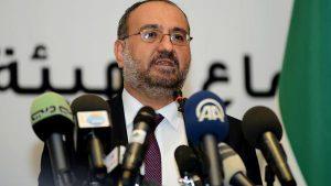 Ahmad Tomeh, en septembre 2013. Un premier ministre sans troupes  organisées