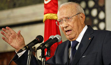 Béji Caïd Essebsi (BCE), leader de Nida Tounes