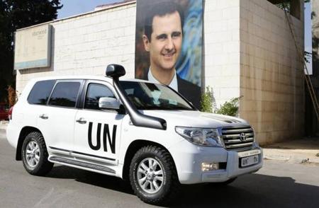 Bachar al-Assad «étudie» le plan de l'ONU «sur le gel des combat», novembre 2014...