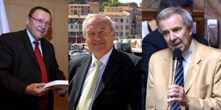 Bruno Sido, Bernard Brochand et Lucien Degauchy