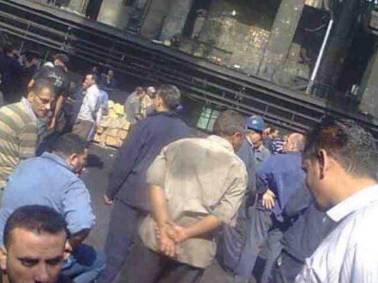 Le 23 novembre 2014, les travailleurs d'Helwan arrêtent la production