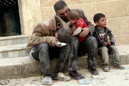 Alep, mai 2014