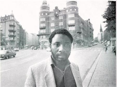 Ramaphosa en Suède en 1983 pour lever des fonds pour le NUM