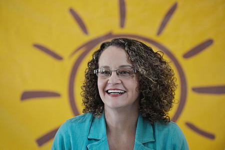 Luciana Genro, la candidate du PSOL à la présidentielle de 2014