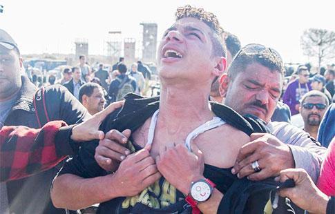 Les cris de déception d'une famille de martyrs