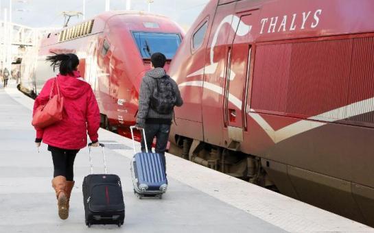 Le Thalys Bruxelles-Paris serre les freins...