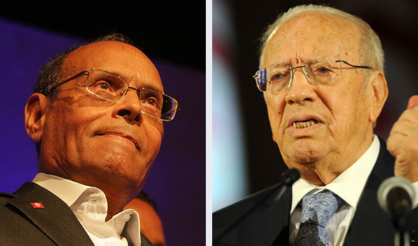 Moncef Marzouki et Beji Caïd Essebi