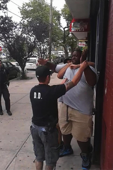 Interpellation d'Eric Garner
