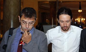 Monedero et Iglesias. Podemos: Nous le pouvons... à deux?