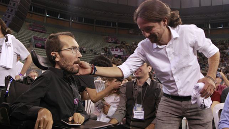 Pablo Echenique Robba et Pablo Iglesias