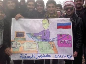 Vladimir Poutimne réanime Bachar al-Assad