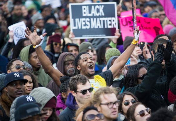 Manifestation du 13 décembre, ici à Washington