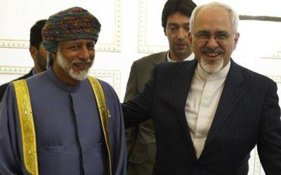 2013: rencontre entre les ministres des Affaires étrangères du Sutanat d'Oman et de la République islamique d'Iran