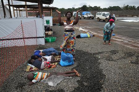 Liberia, août 2014