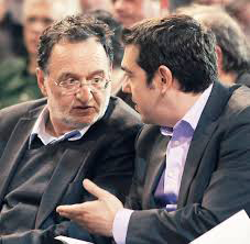 Lafazanis en débat avec Tsipras