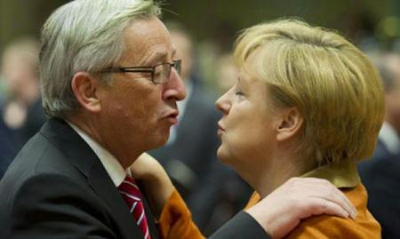 Juncker et Merkel