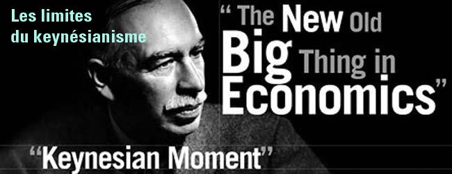 Les limites du keynésianisme