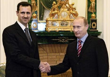 Bachar et Poutine
