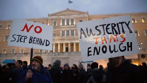Manifestation à Athènes le 11 février 2015