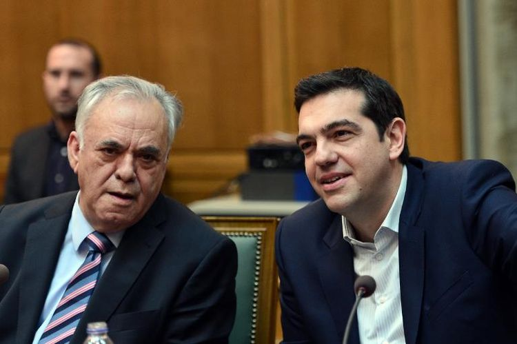 Dragasakis et Tsipras