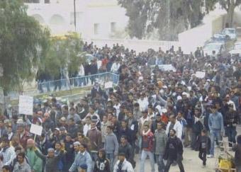 Les travailleurs de GAFSA, déjà en lutte en 2008