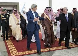 John Kerry aec Salmane Ben Abdel Aziz