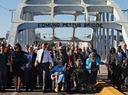 Obama le 7 mars 2015 à Selma