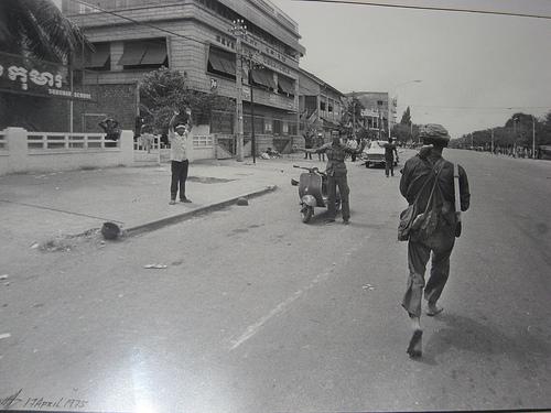 Phnom Penh, 17 avril 1975