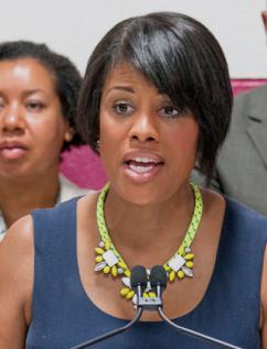 Stepahnie Rawlings-Blake, maire de Baltimore