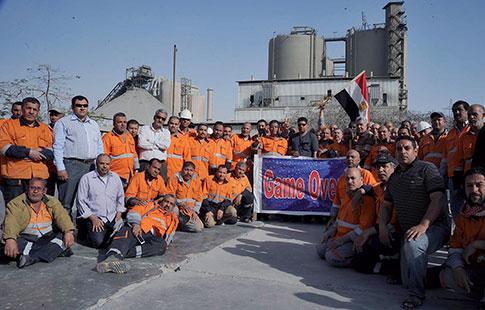 Les ouvriers de Ciment Tora poursuivent leur sit-in commencé  le 29 mars