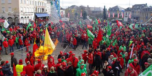 Une «journée» de grève tournante, dans les provinces, en fin 2014