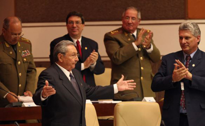 Raul Castro, devant «l'Assemblée nationale du pouvoir populaire» en 2013
