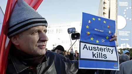 Manifestation à Bruxelles le 14 novembre 2012