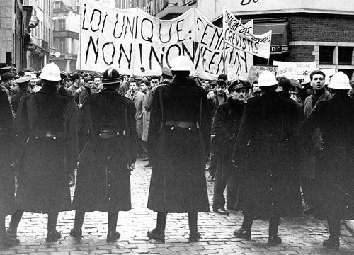 La grève de décembre 1960-janvier 1961: cinq semaines de grève contre la «loi unique»