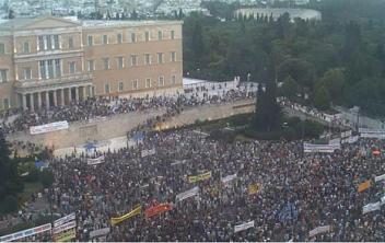 Rassemblement du 21 juin à Athènes